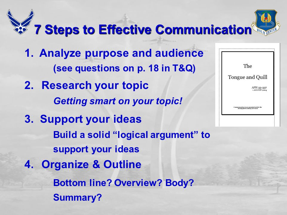 Briefing Assignment  Briefing Topics  AFSC  Air Force Leader  Date Due