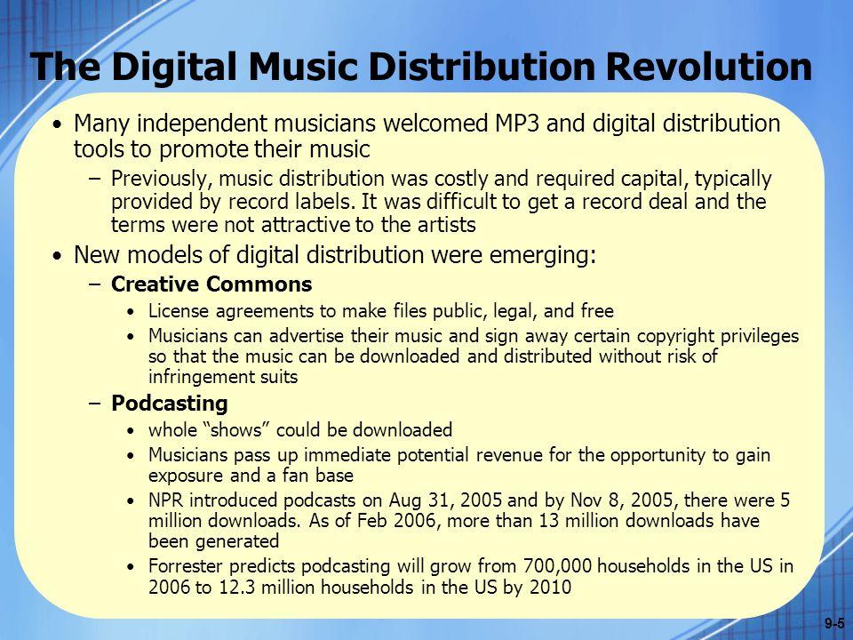 The Digital Music Distribution Revolution 9-6 April 4, 2008 Apple Inc.