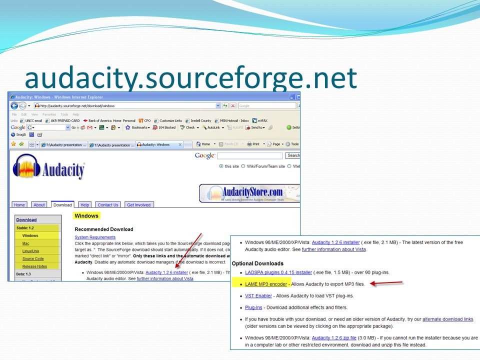audacity.sourceforge.net