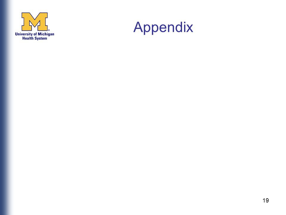 Appendix 19