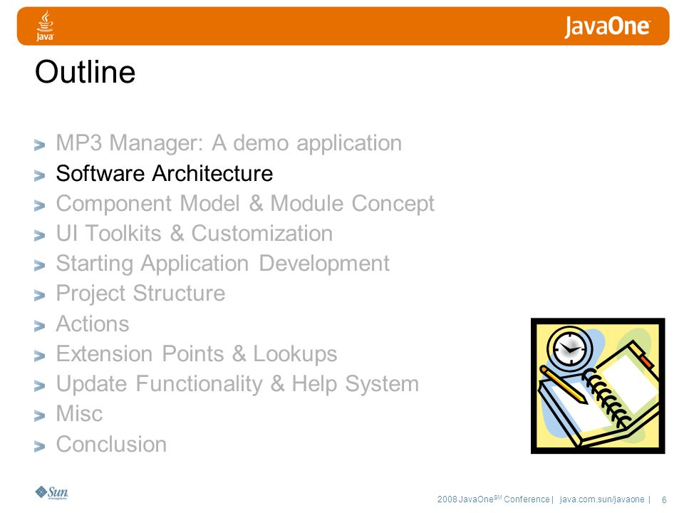 2008 JavaOne SM Conference | java.com.sun/javaone | 57 Deployment Both IDEs provide the deployment of the whole application to the local file system NetBeans as ZIP file & Web-Start Eclipse as directory structure, can be zipped Java Web Start NetBeans IDE supports direct deployment for Java Web Start Eclipse RCP apps can be made ready for Java Web Start with some manual configuration Native installers (e.g.