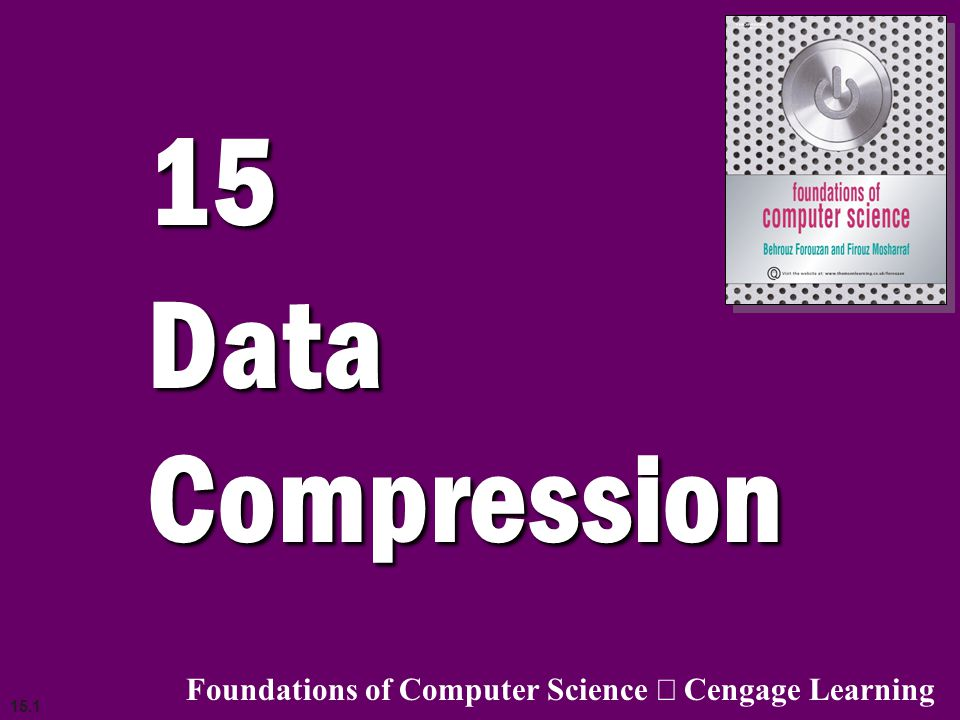 15.32 Audio compression Audio compression can be used for speech or music.