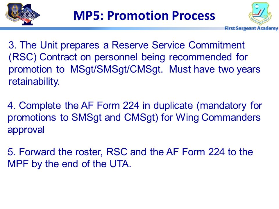 MP5: Promotion Process 1.