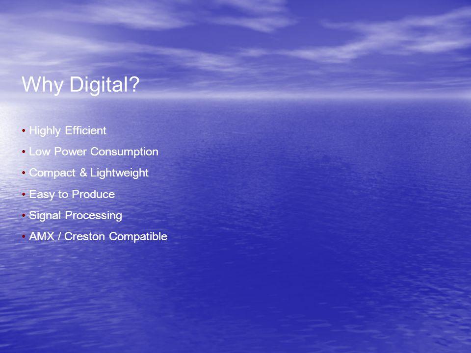 Why Digital.