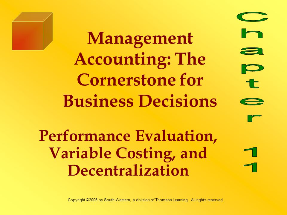 Learning Objectives 1.Explain how and why firms choose to decentralize.