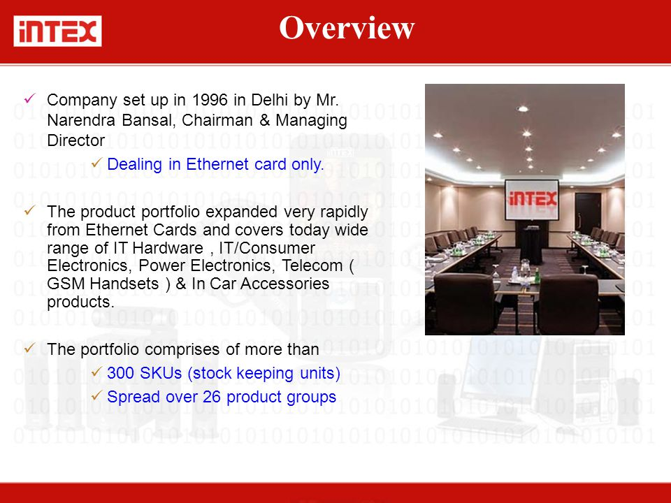 Company set up in 1996 in Delhi by Mr.