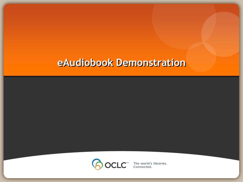 eAudiobook Demonstration