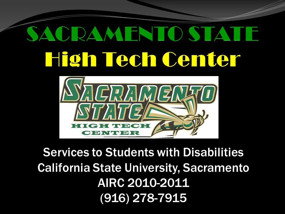 What is the High Tech Center and what do we do.