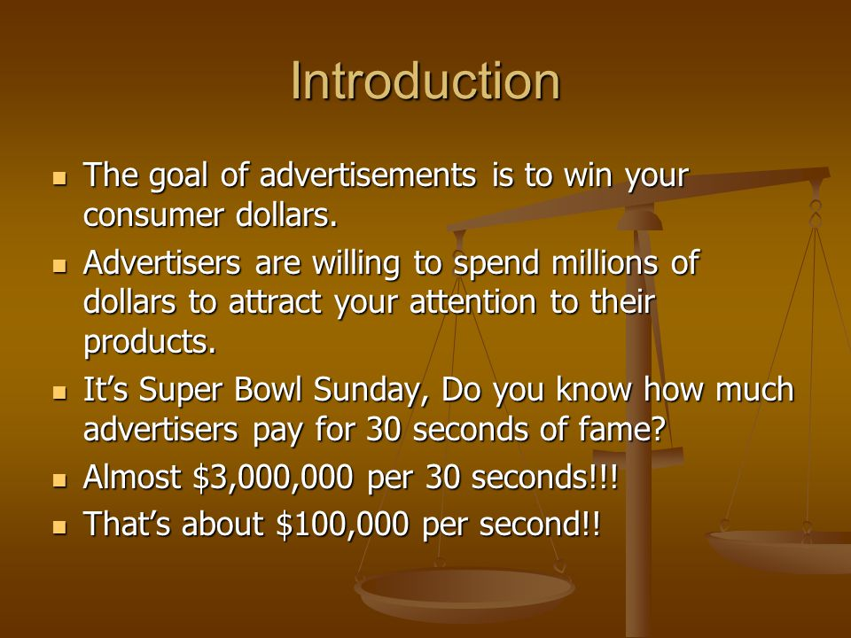 Introduction Because of the problems of scarcity your goal should be to obtain the most satisfaction from your limited income and time Because of the problems of scarcity your goal should be to obtain the most satisfaction from your limited income and time In this section you will learn about three basic buying principles that can help you and all consumers achieve this goal.