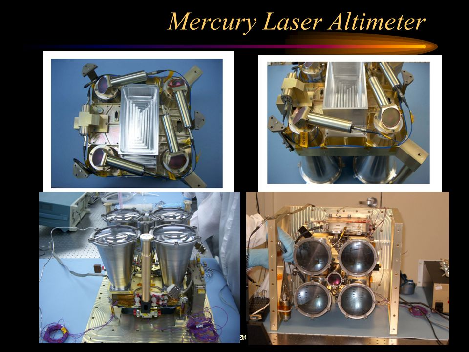 March 30, 2004NASA Goddard Space Flight Center Mercury Laser Altimeter