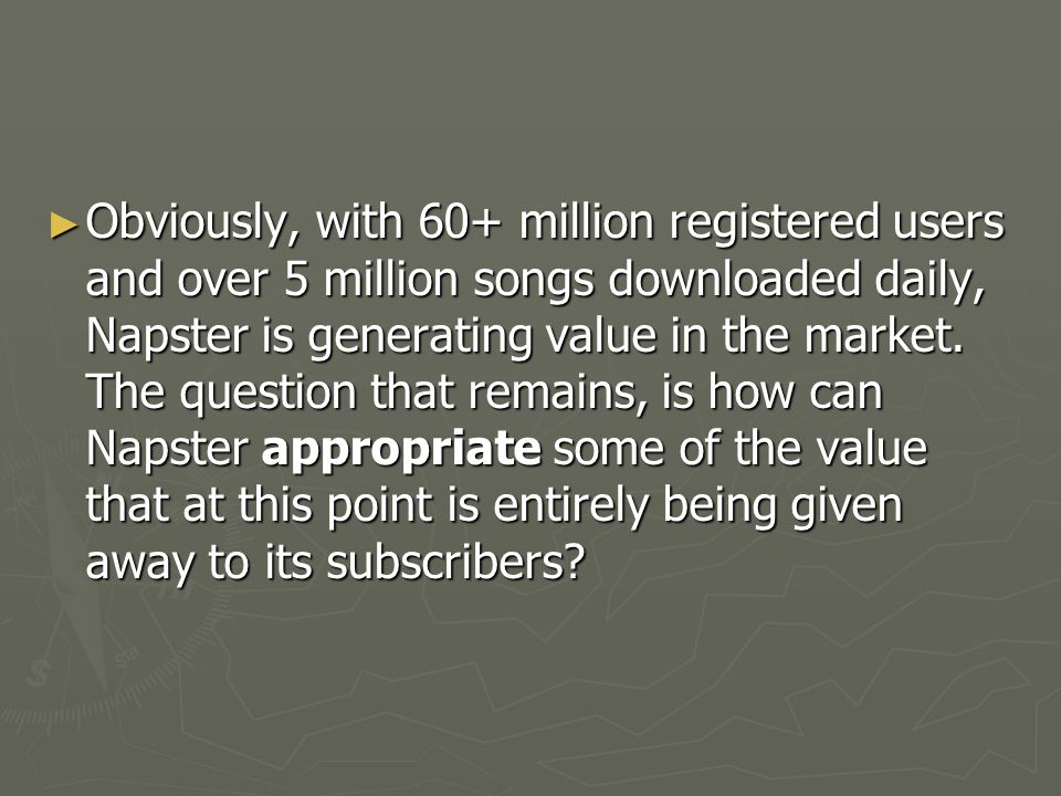 ► Record labels: Subscriptions give labels something they have always lacked: an ongoing relationship with consumers.