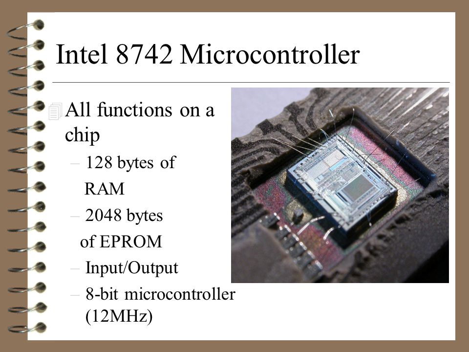 What is Microcontroller .