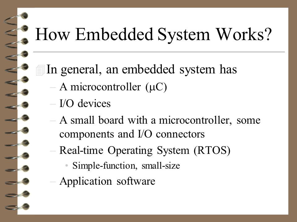 What is Embedded System .