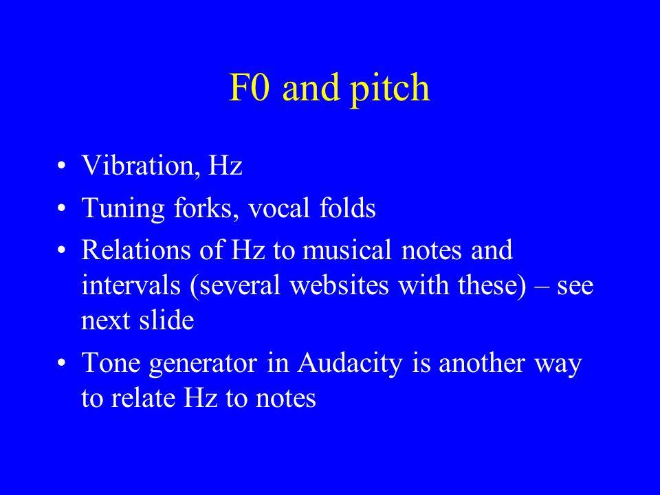 Sundberg: F1 tuning when F0>F1