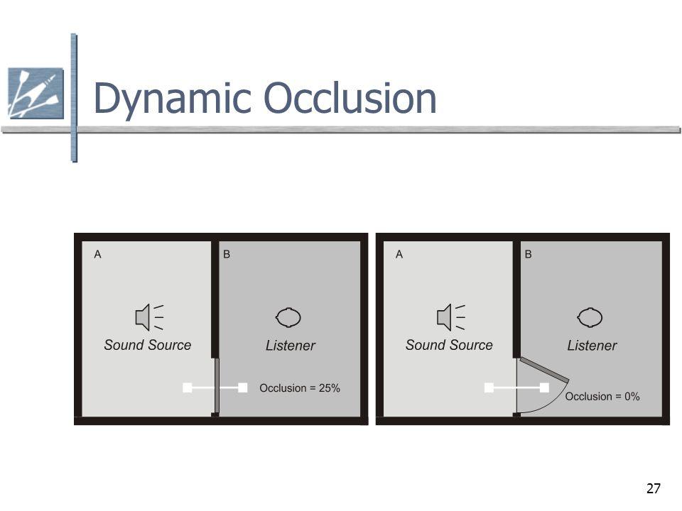 27 Dynamic Occlusion
