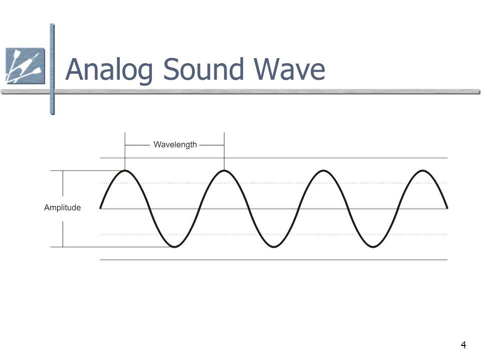 4 Analog Sound Wave