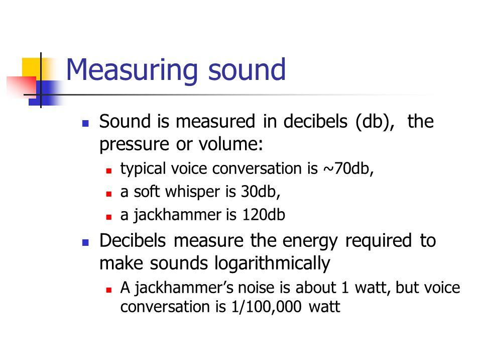 Sound in multimedia How many of you like the use of audio in The Universal Machine.