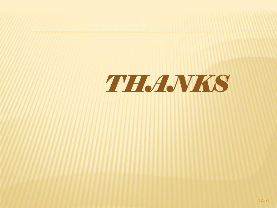 THANKS 17/51