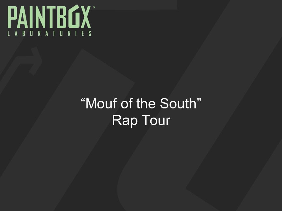Mouf of the South Rap Tour