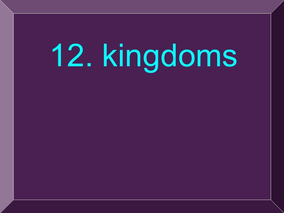28 12. kingdoms
