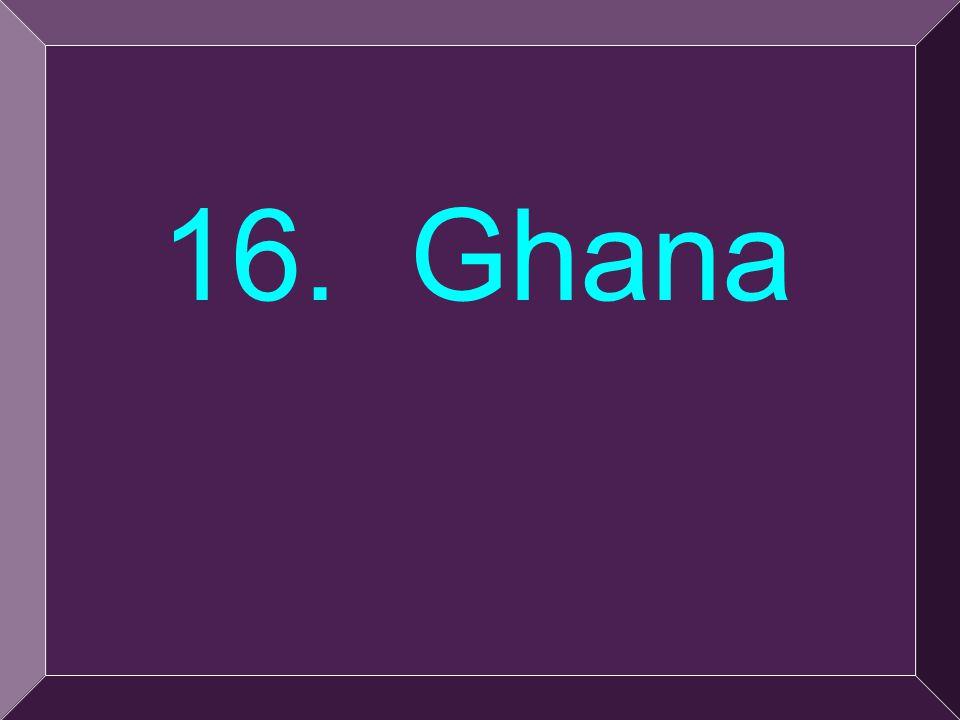 36 16. Ghana