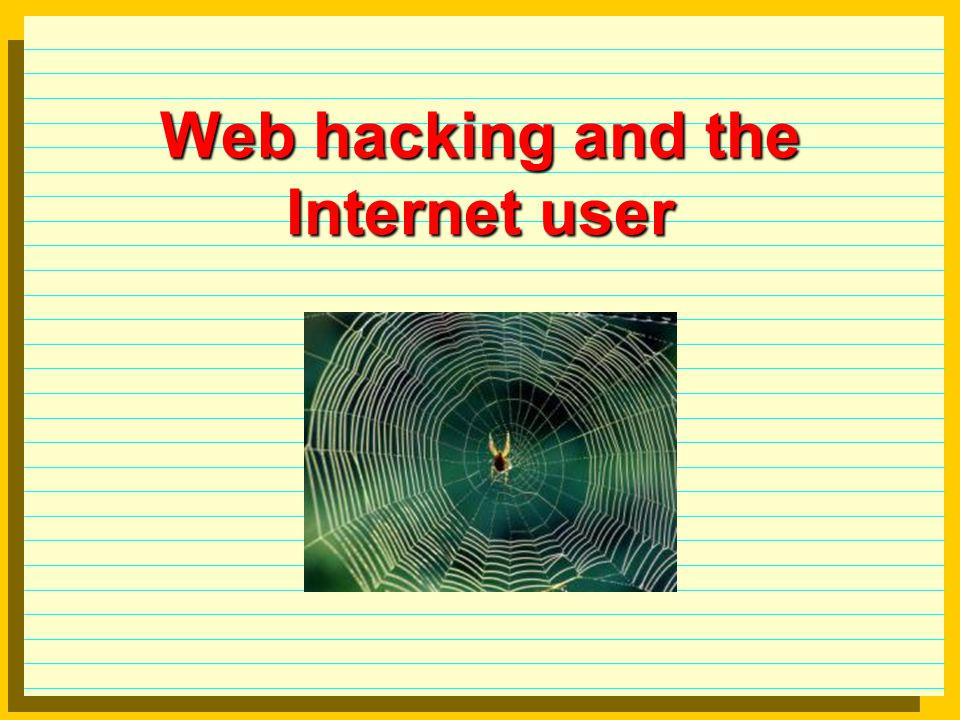 Web hacking Basics Web pilfering: download selectively web sites and search files off-line.selectivelysitesfiles Automated scripts: developed by advanced hackers for use by script kiddies. See SecurityInnovation for vulnerability scanners.SecurityInnovation IIS security: see Microsoft Web Application Security guide to setup the IIS and identify threats and create countermeasures.Web Application Security CGI: programming CGI with security in mind by W3org, a compilation and an index for CGI security resources, SSI and CGI security,W3org compilationindex SSI and CGI ASP vulnerabilities: HTML and programming in the same directory, dot bug, samples (showcode and codebrws).