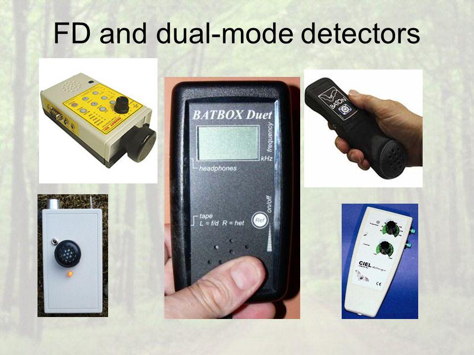 FD and dual-mode detectors