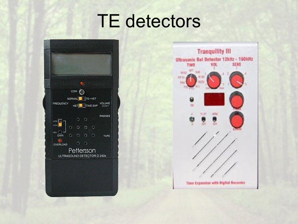 TE detectors