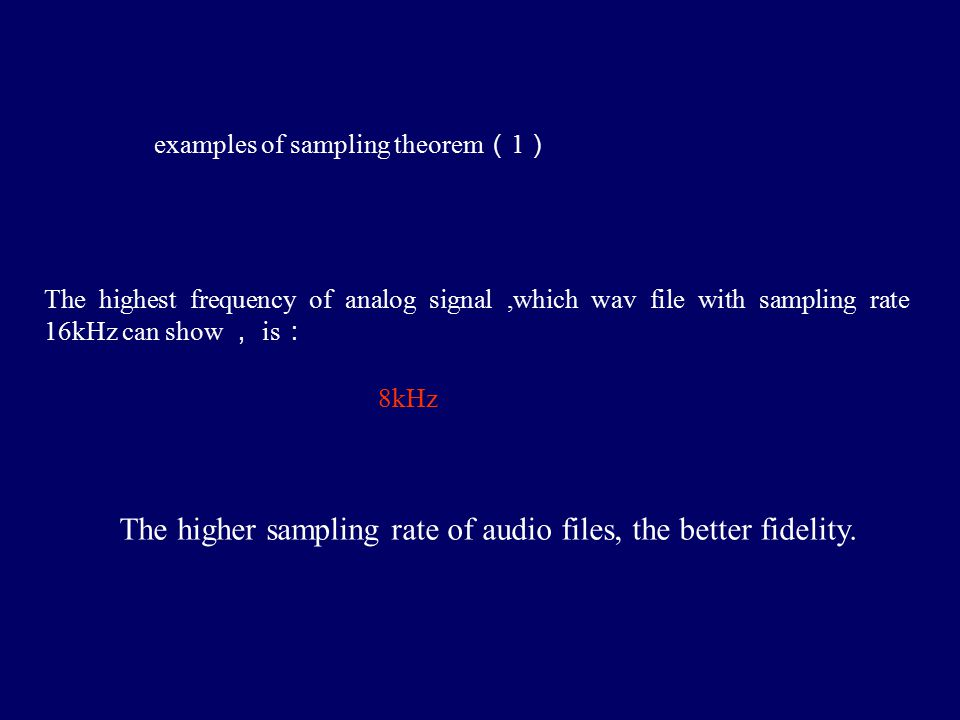 Figure 4.41 Digital processing of analog signals
