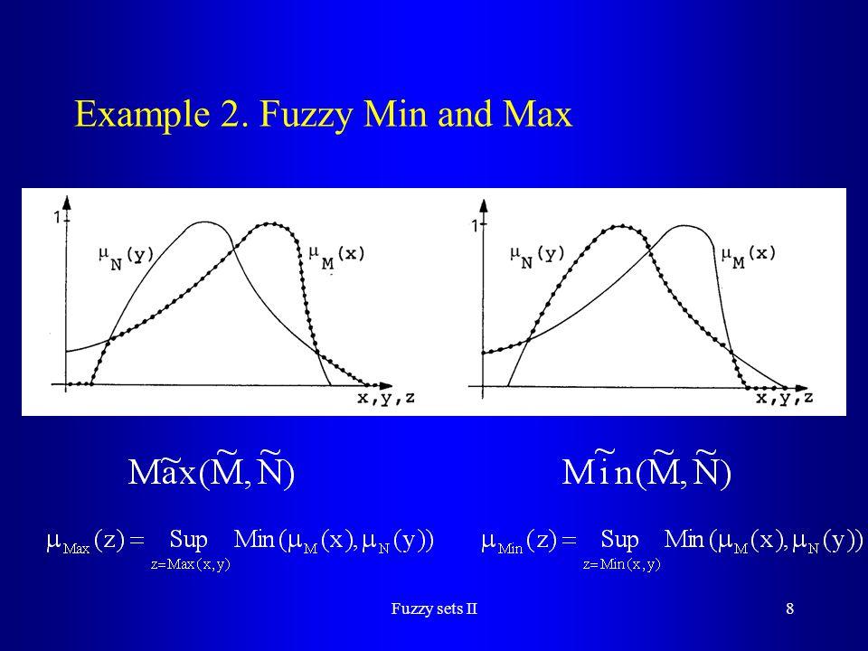 Fuzzy sets II39 Example 13.