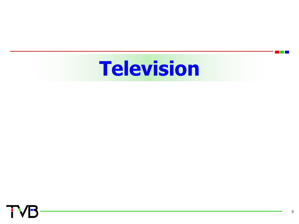 TelevisionTelevision 9
