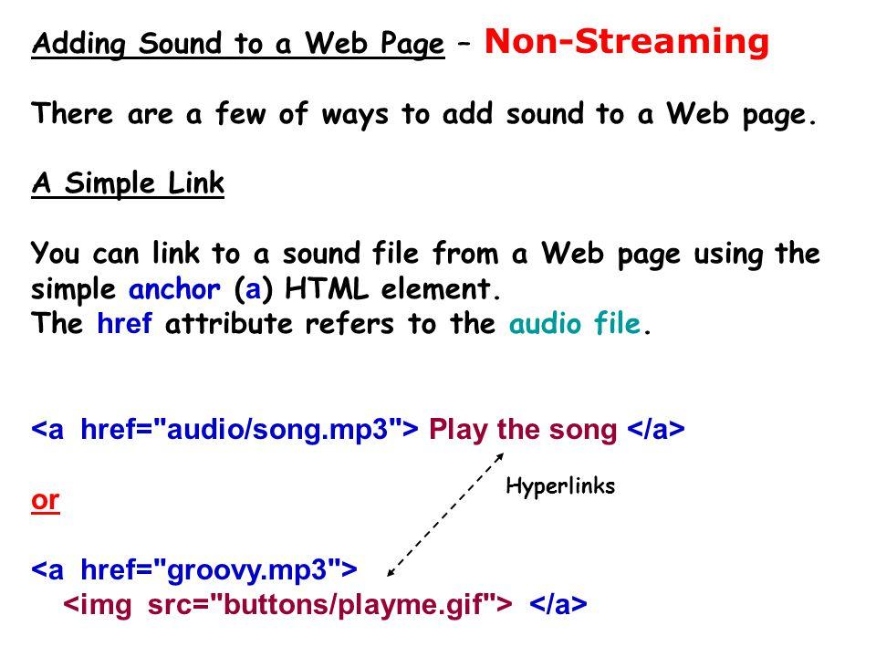 Sound editing software  Audacity ( audacity.sourceforge.net ) – Free.