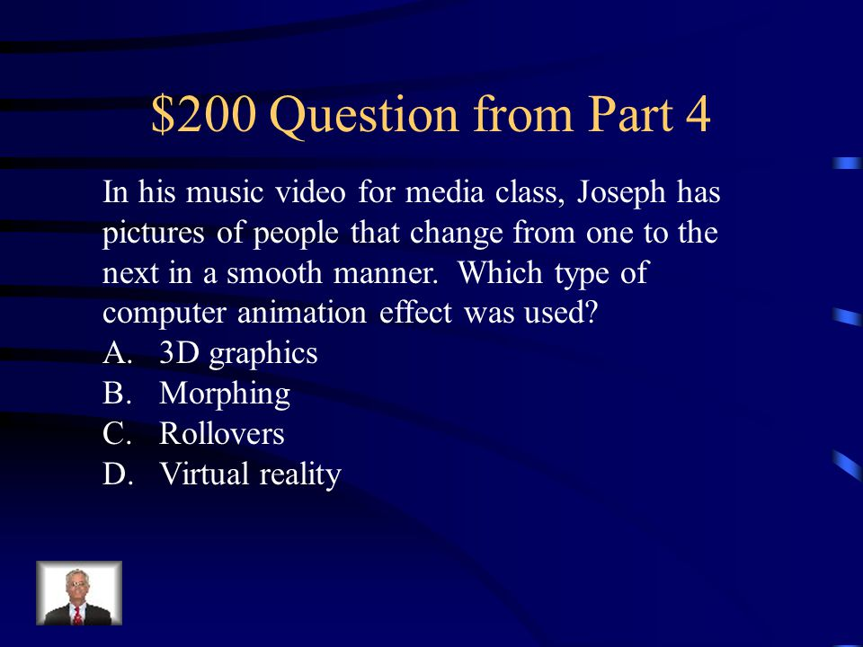 $100 Answer from Part 4 C. Stage