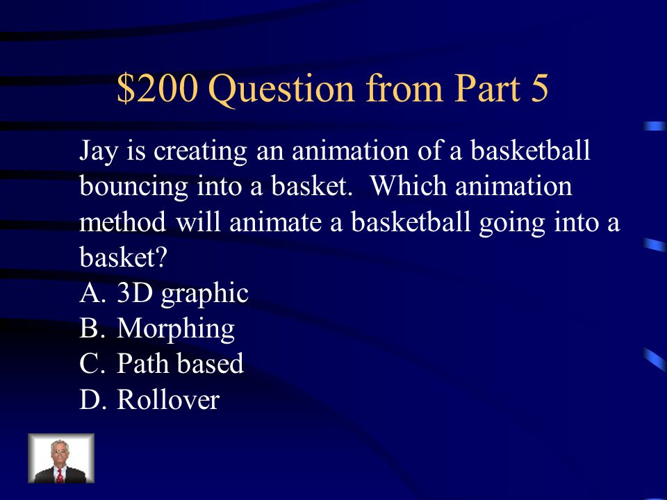 $100 Answer from Part 5 D. WAV