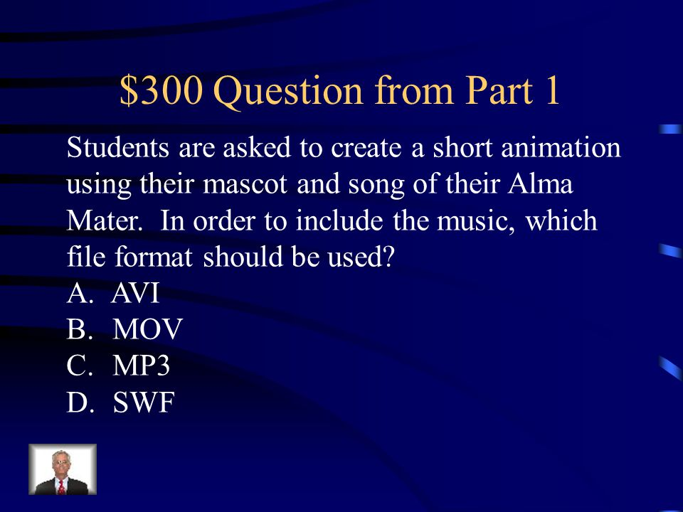 $200 Answer from Part 1 A.Morphing