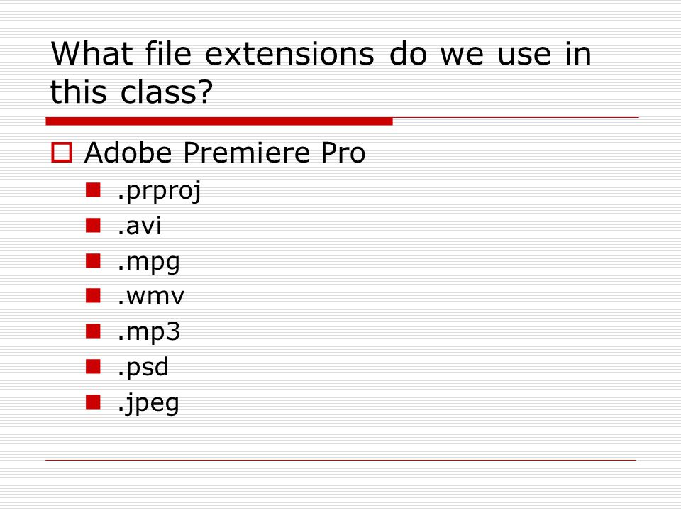 What is a.prproj file?