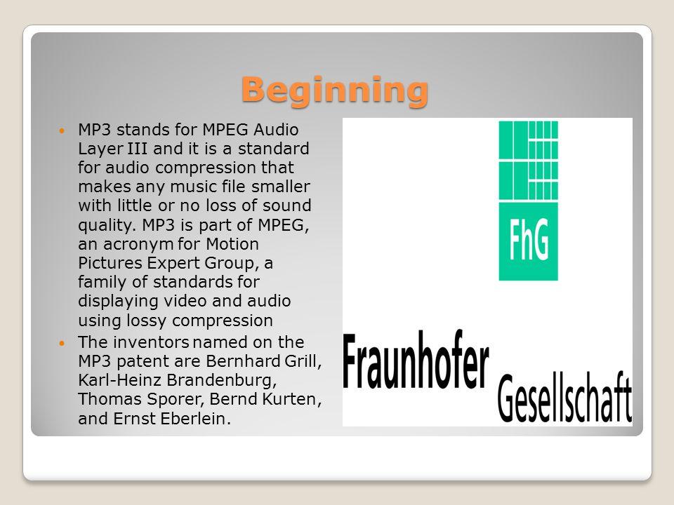 Timeline 1987 - The Fraunhofer Institut in Germany began research code- named EUREKA project EU147, Digital Audio Broadcasting (DAB).