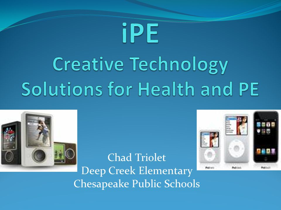 Chad Triolet Deep Creek Elementary Chesapeake Public Schools