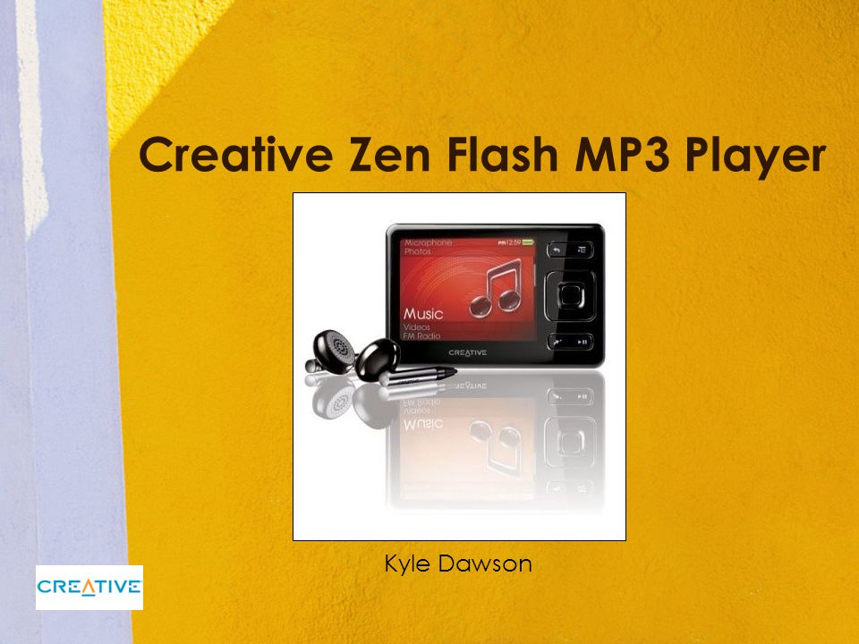 Creative Zen Flash MP3 Player Kyle Dawson