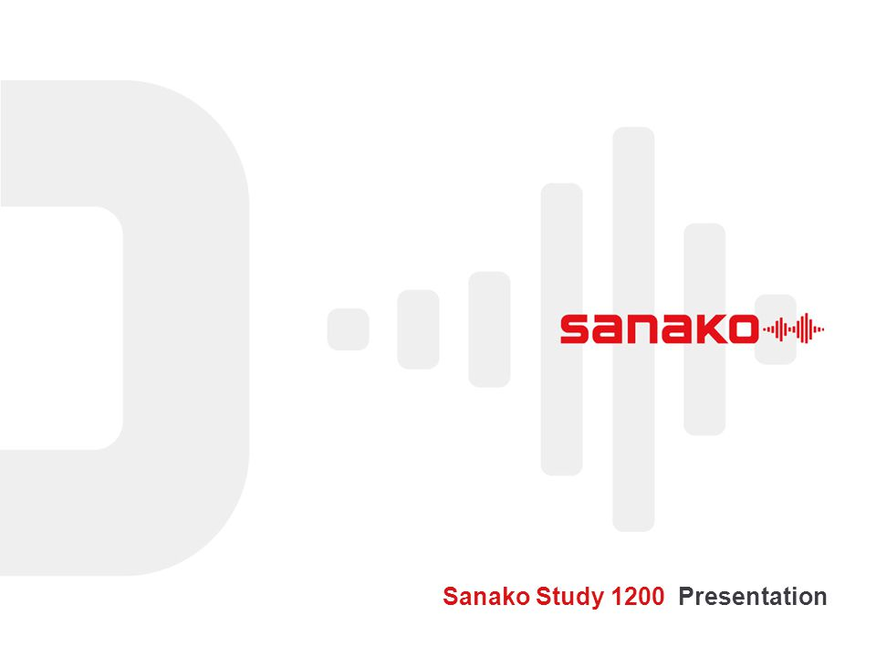 Sanako Study 1200 Presentation