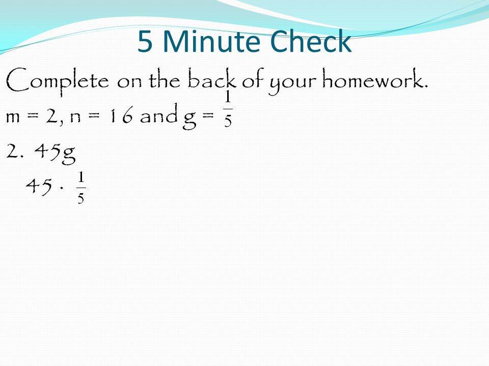 Algebra: Write Expressions At the end of this lesson you should be able to answer the following question.