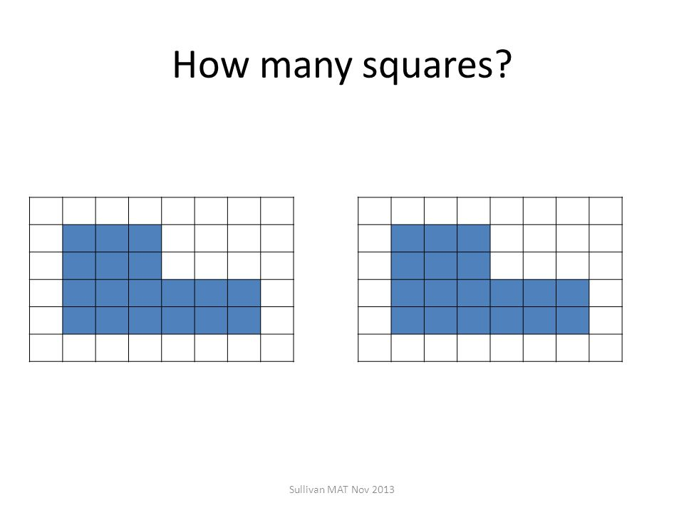 How many squares Sullivan MAT Nov 2013