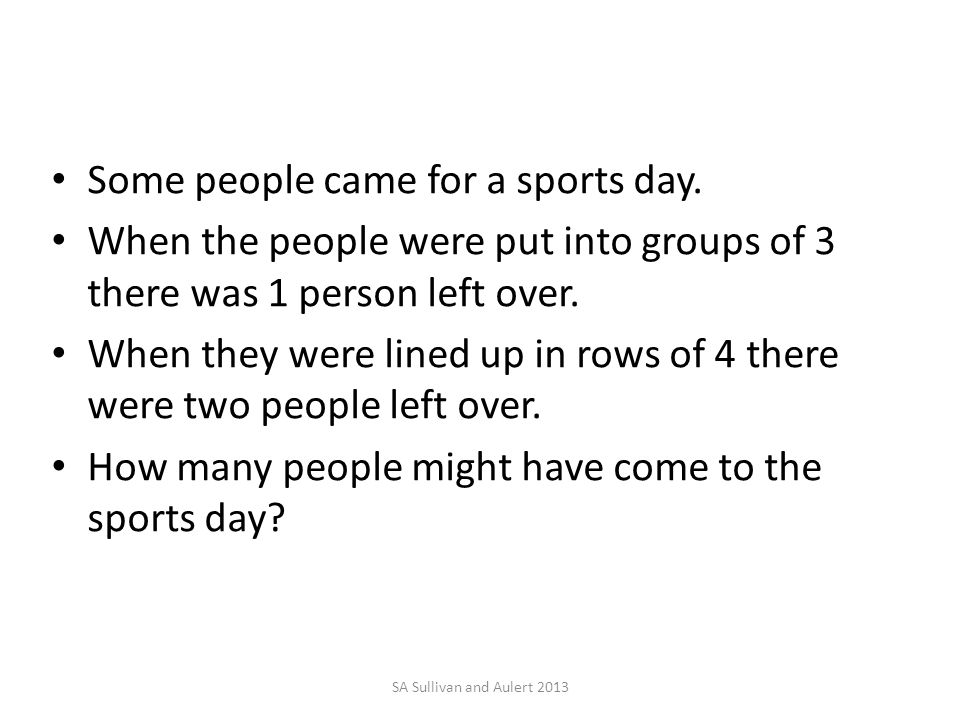 Some people came for a sports day.