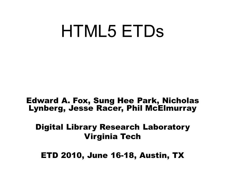 Main Screen of HTML5 Converter