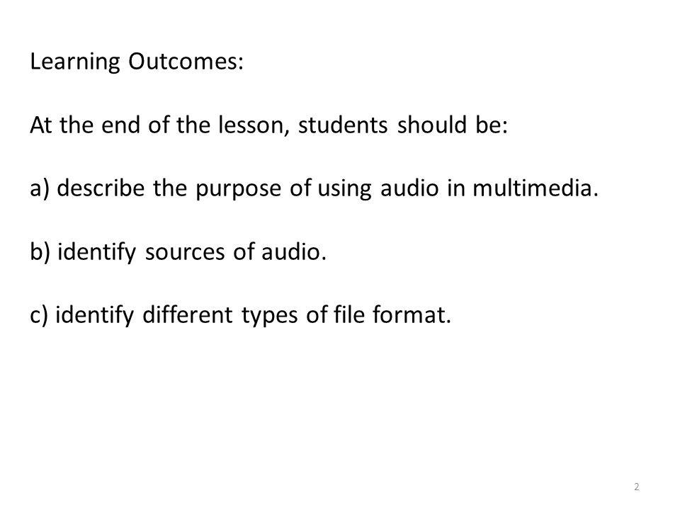 13 Figure 3: Sound file in Microsoft Office