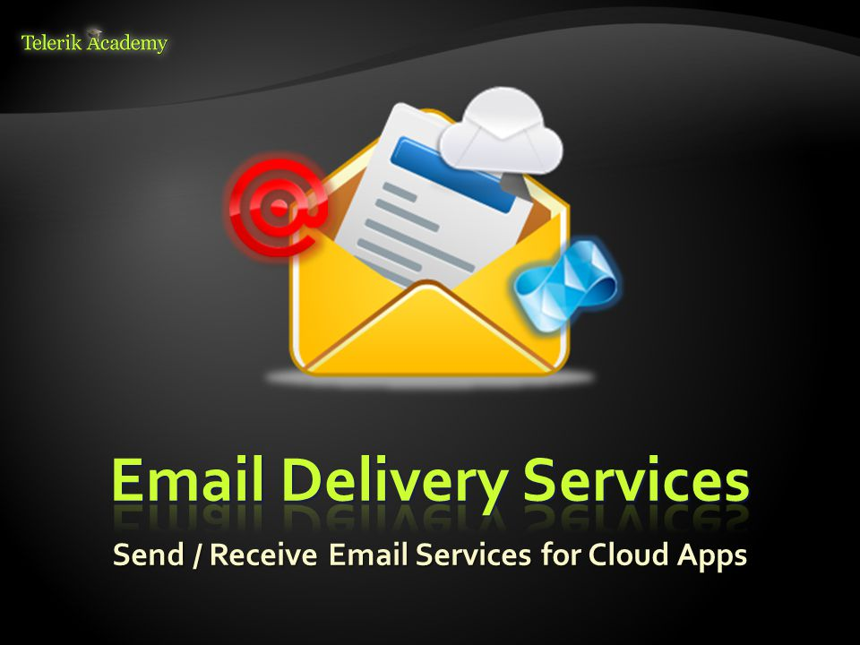 Send / Receive Email Services for Cloud Apps
