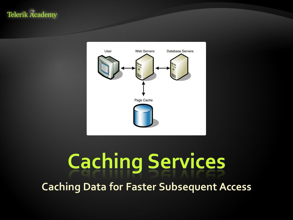 Caching Data for Faster Subsequent Access