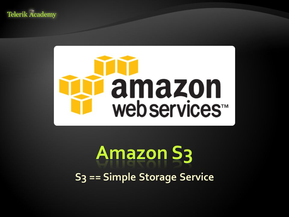  Amazon S3 == Simple Storage Service  On-demand file storage in the AWS cloud  Highly-reliable (99.999999999% durability and 99.99% availability)  Many APIs: RESTful / SOAP / C# / Java / others  Two modes:  Normal – more reliable, more expensive  Reduced redundancy – cheaper, but less reliable  Multiple locations: US, Europe, Asia 7