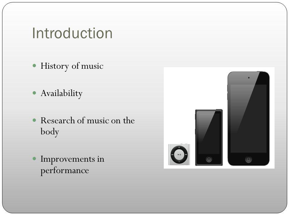 Criteria of the Music
