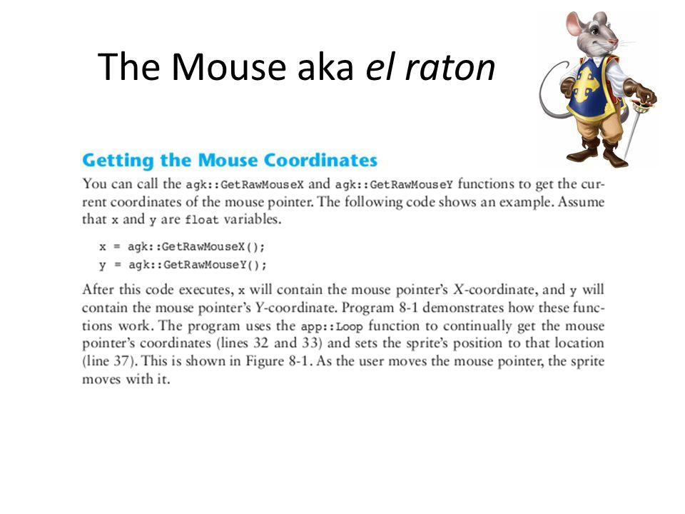 The Mouse aka el raton